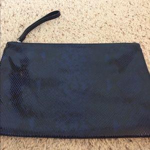 Banana Republic Pytho Leather Extra LG Clutch